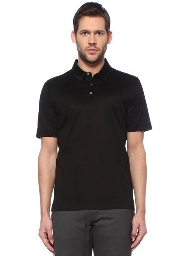 Canali Canali  Polo Yaka T-shirt 101600193 Siyah